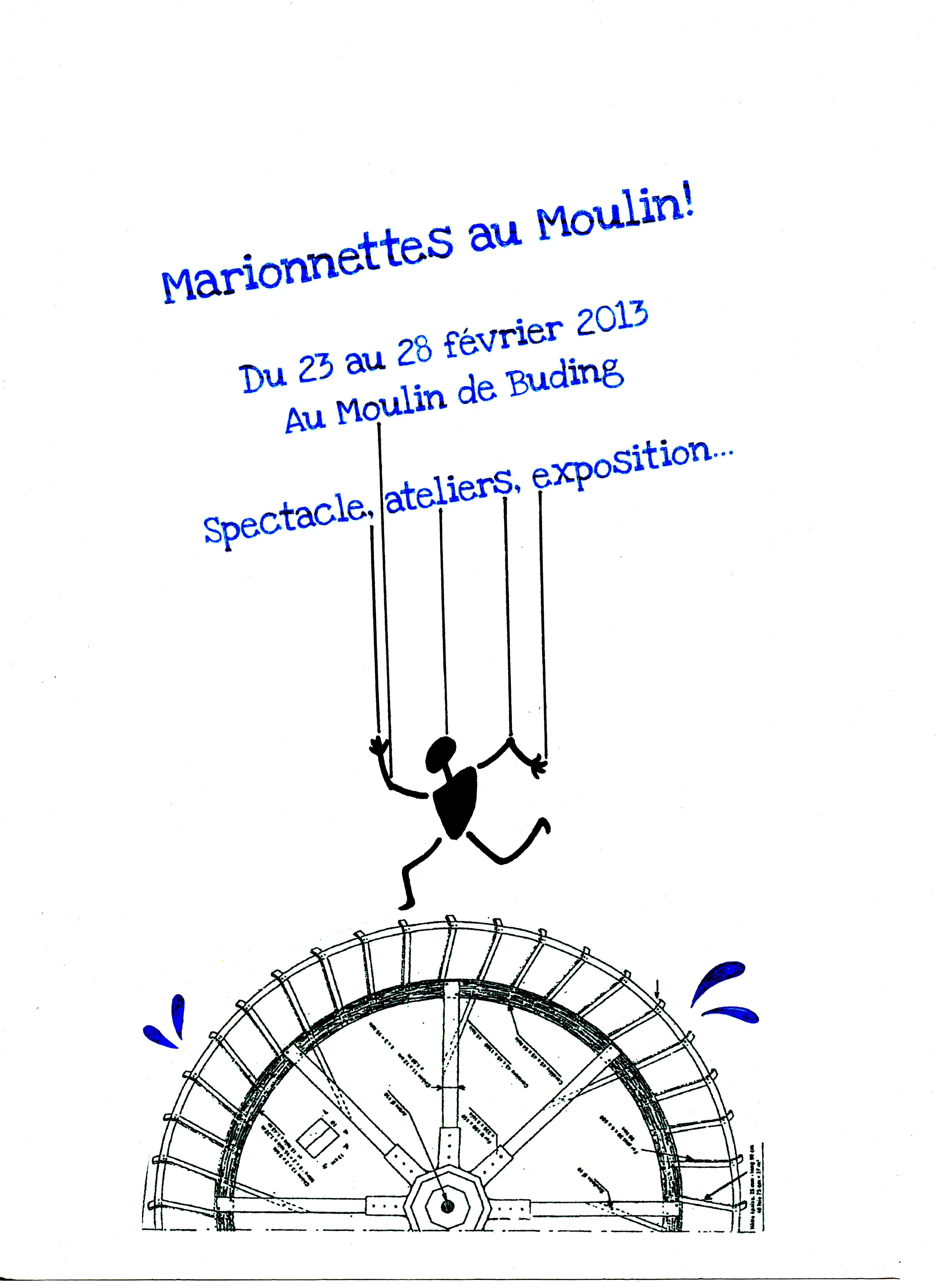 Marionnettes au Moulin!